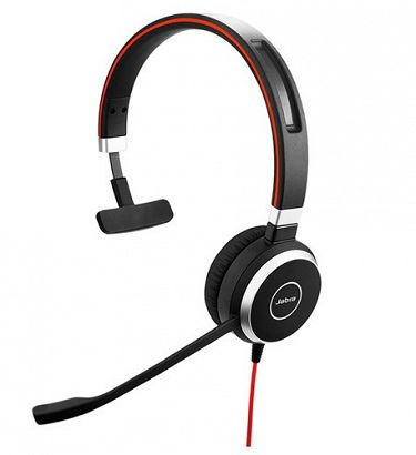 jabra evolve 40 3.5mm/usb mono headset
